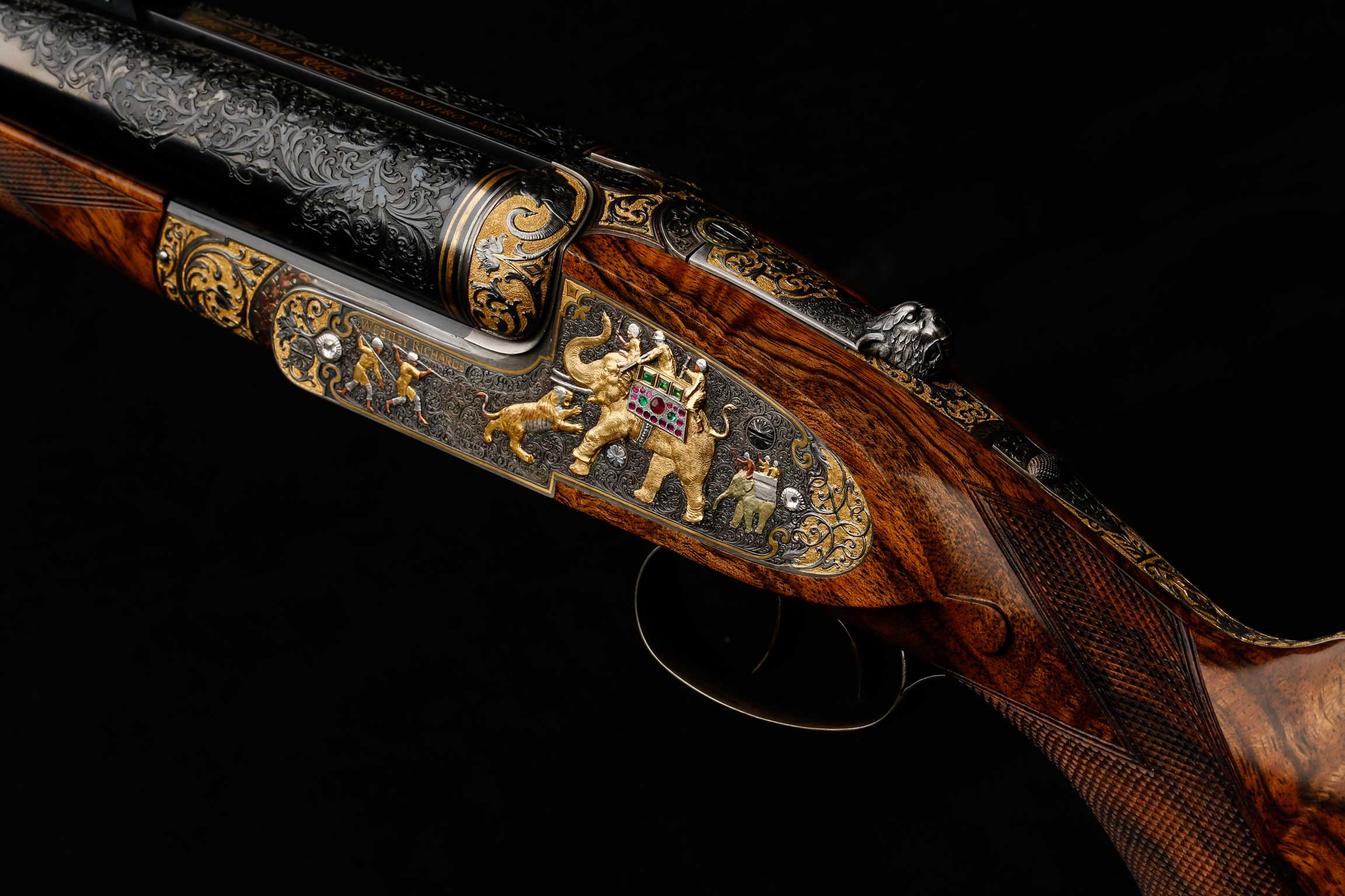 Left Hand Lock India Rifle