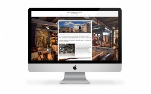 WR Website on Mac