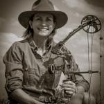 KIM GATTONE CHRISTENS HER BOW IN AFRICA