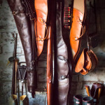 FREE INITIALING ON WESTLEY RICHARDS LEATHER GUN SLIPS AND BAGS FOR HOLIDAY GIFTS