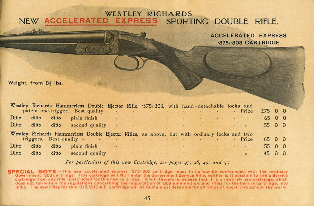 Westley Richards Accelerated-Express