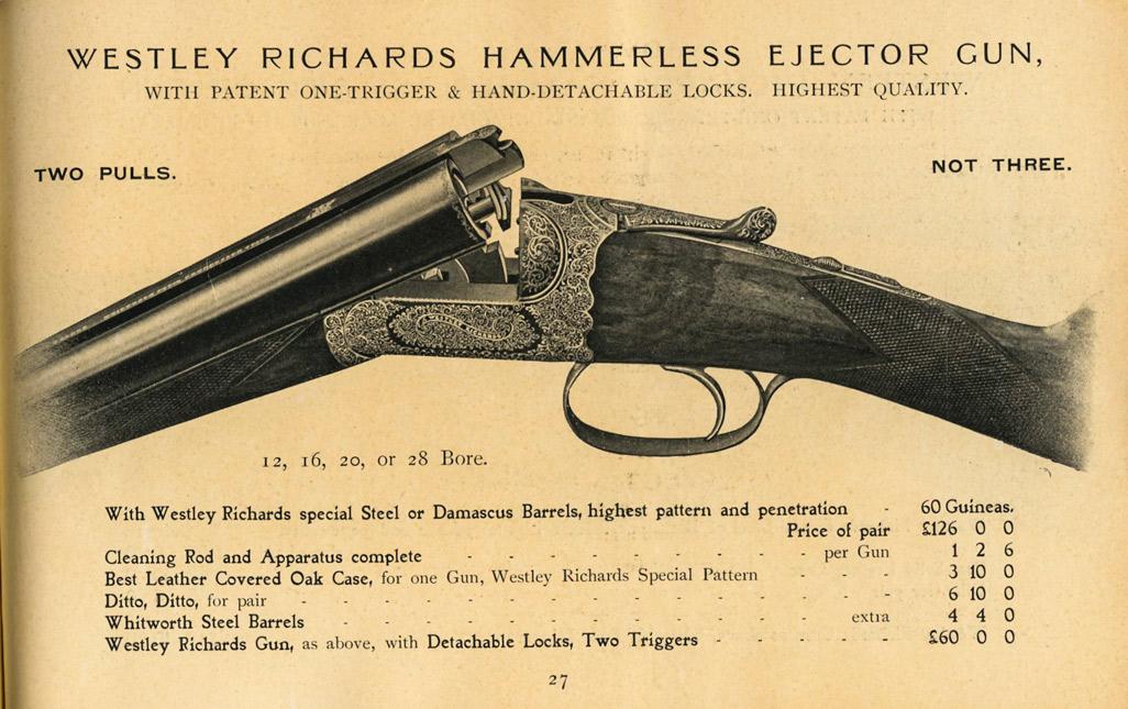 Westley Richards Ejector-gun