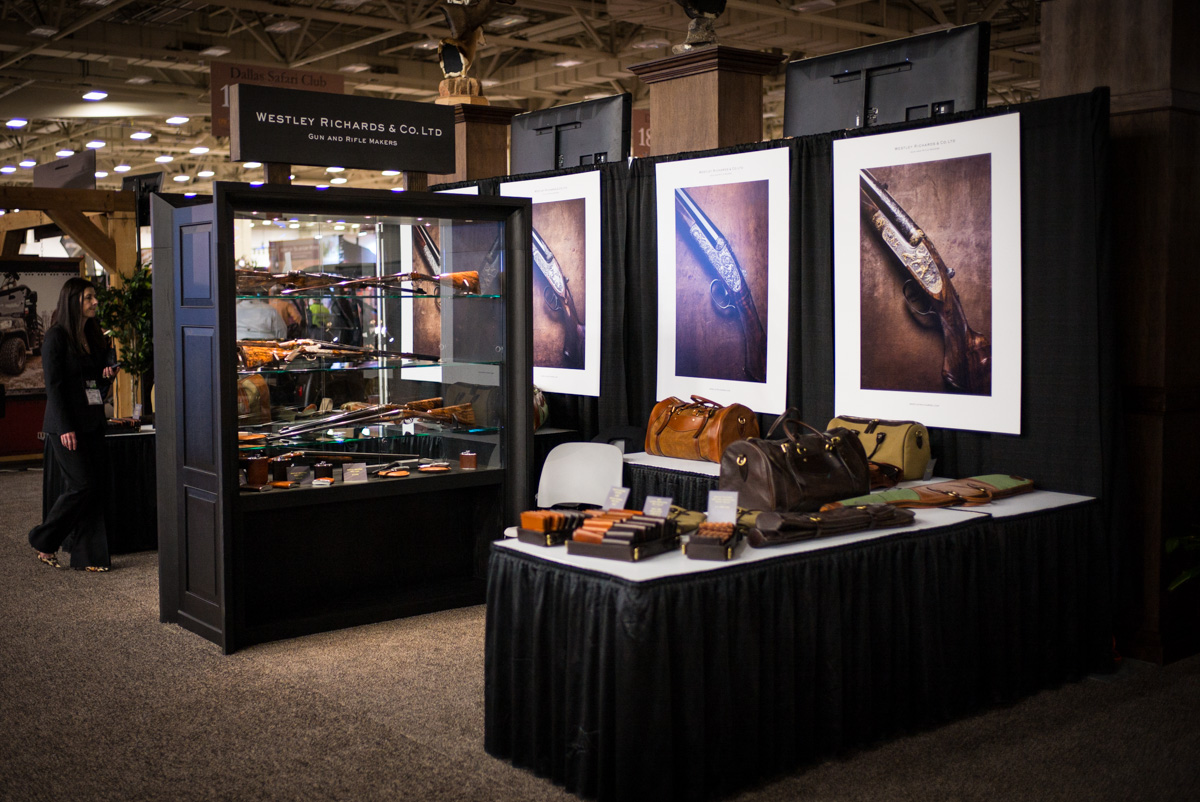 Westley Richards Dallas Stand