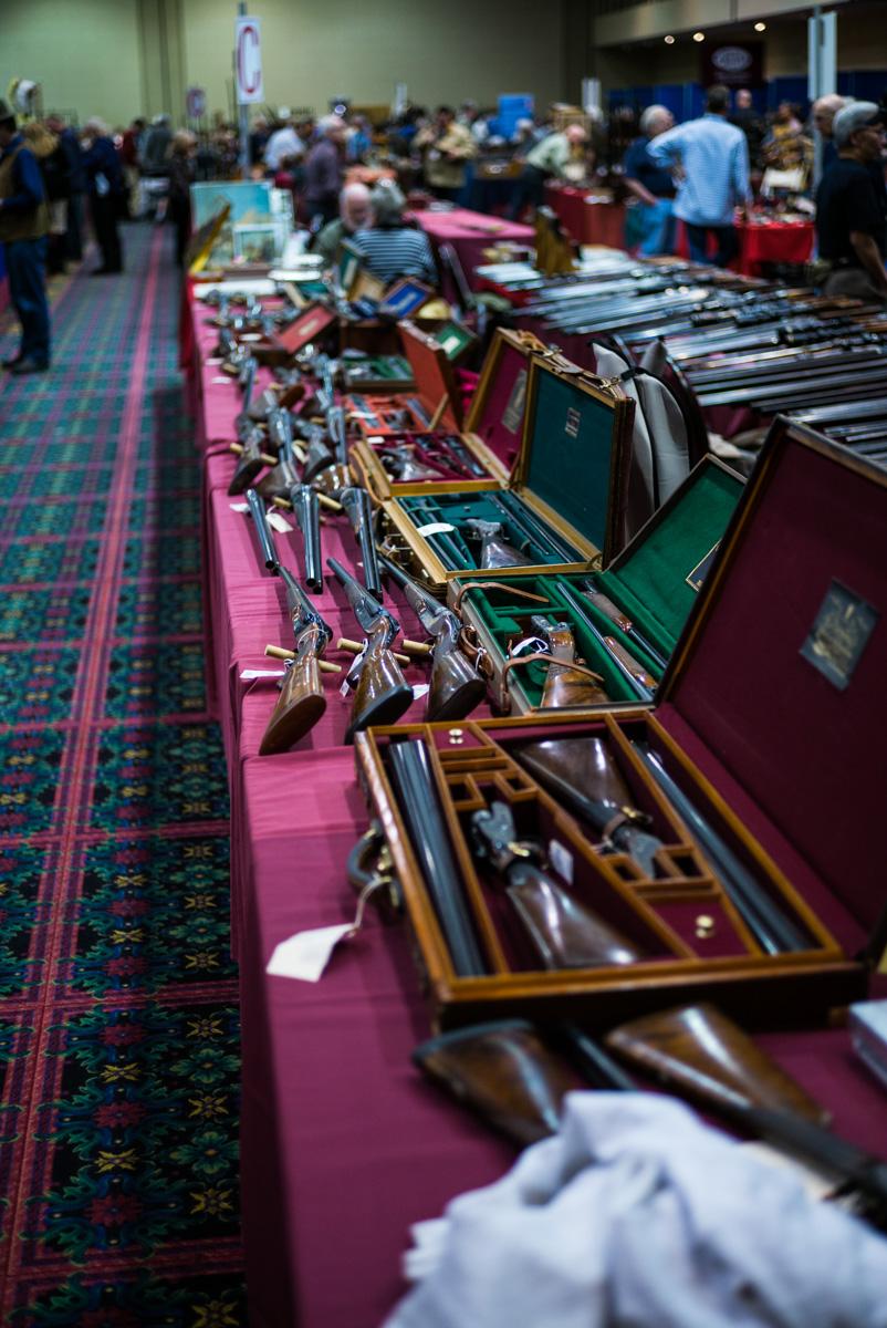 Las Vegas Antique Arms Show.