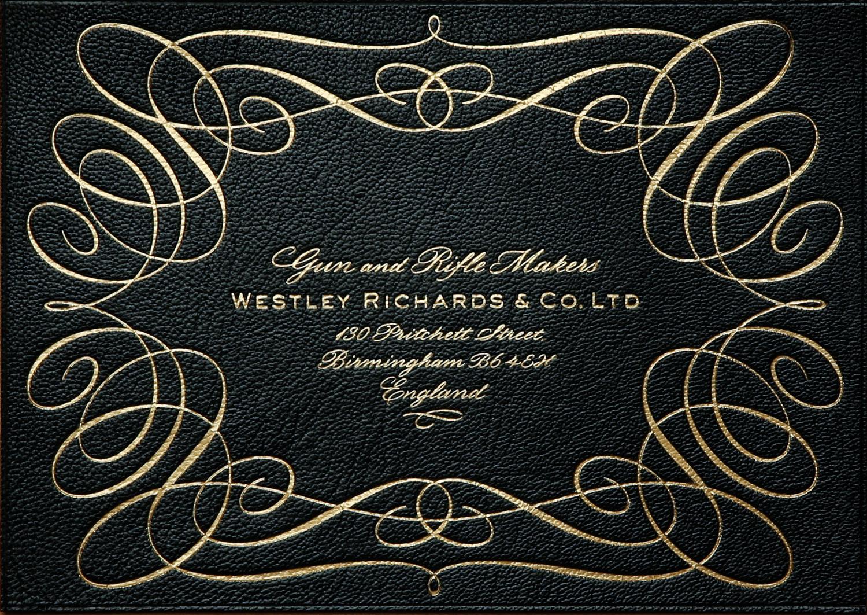 Westley Richards Trade Label 2014