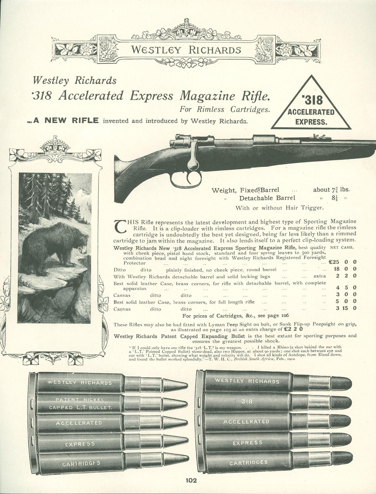 318 Westley Richards