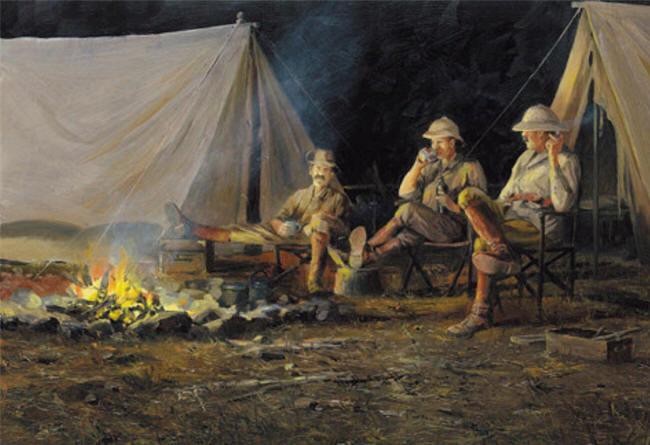 Campfire Cohorts by John Seerey-Lester