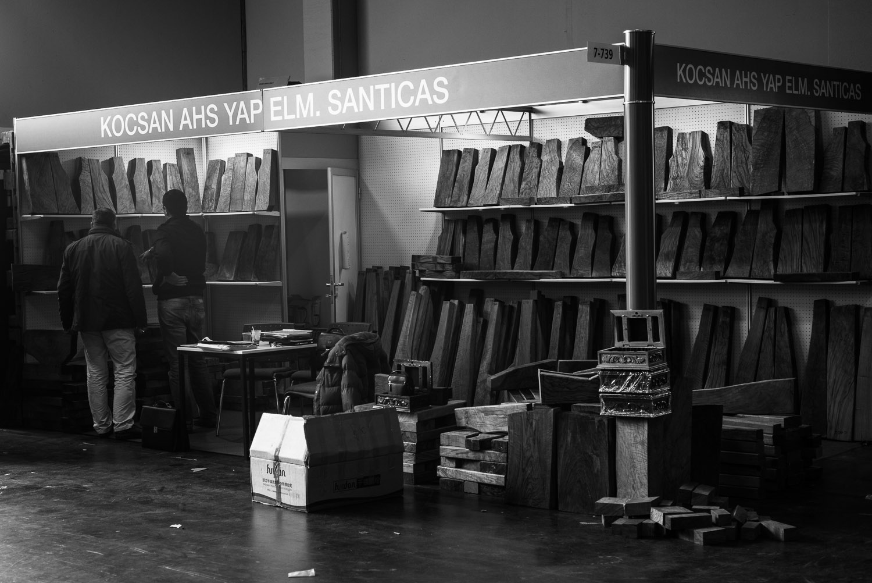 Stock Blank Merchant at IWA