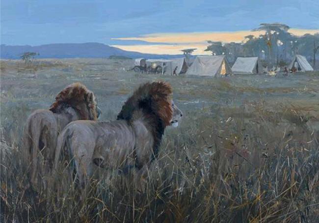 Tanganika Twilight by John Seerey-Lesterjpg