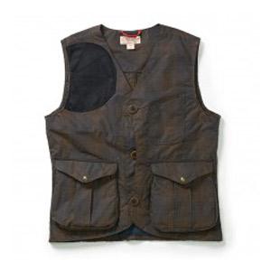 Filson Guide Vest- Waxed Tartan