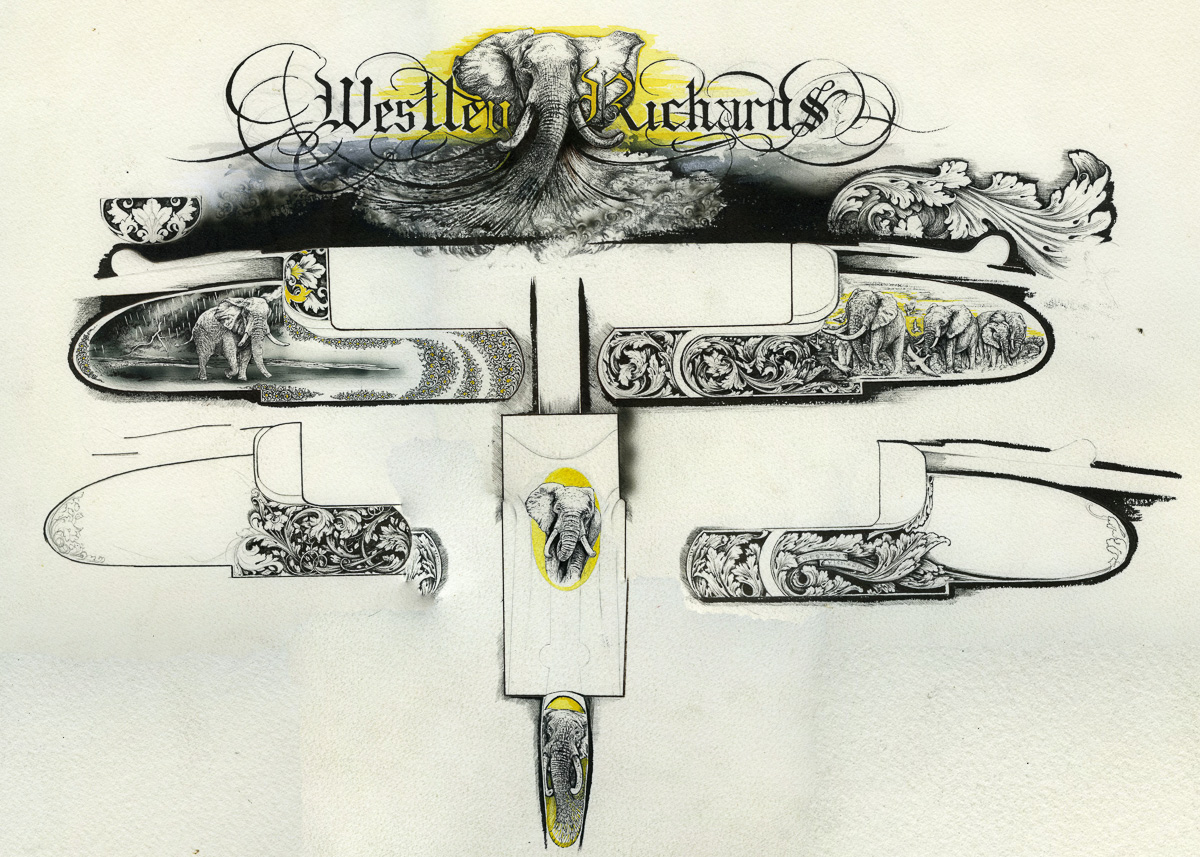VC Drawing for Westley Richards