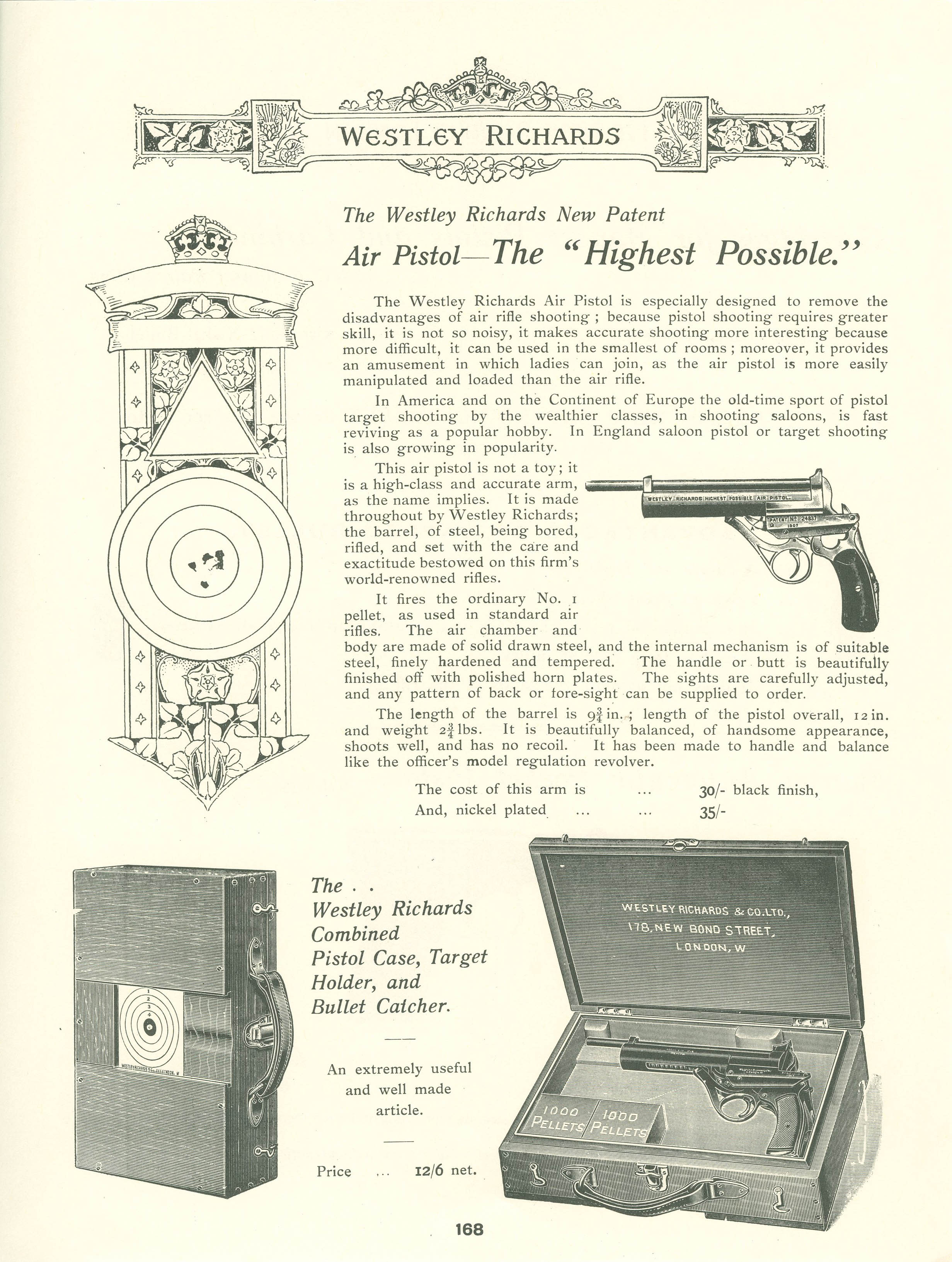 WR Highest Possible Air Pistol