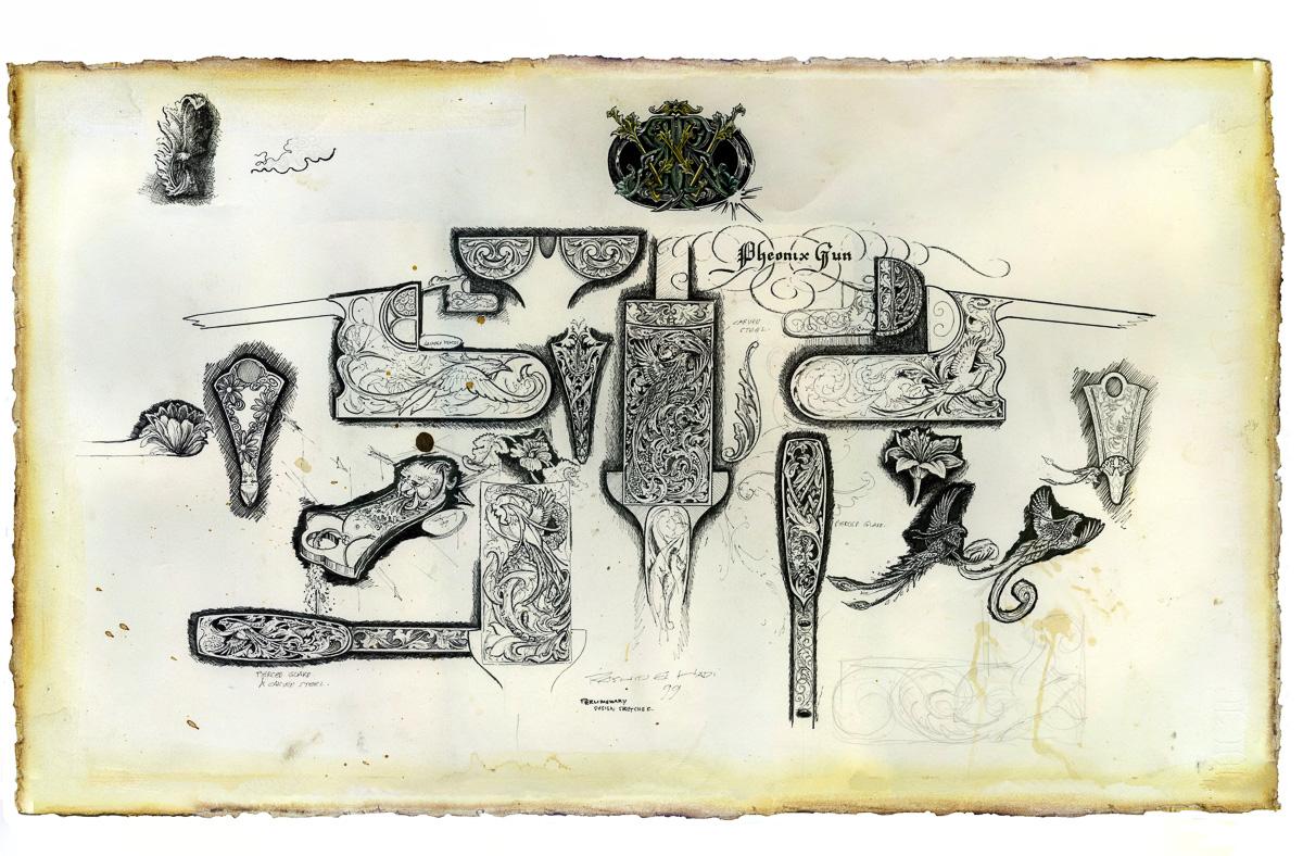 Rashid Drawing for Westley Richards
