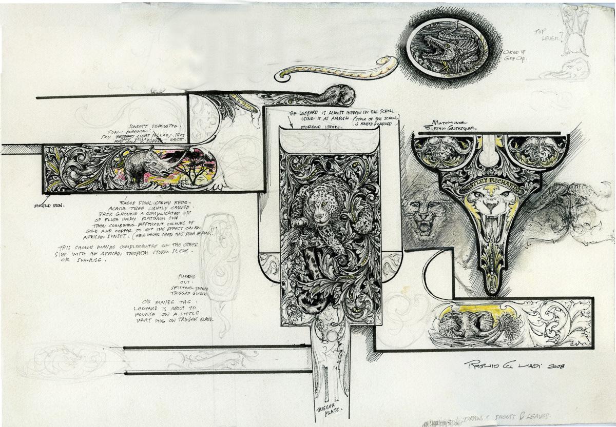 Rashid Design for Westley Richards