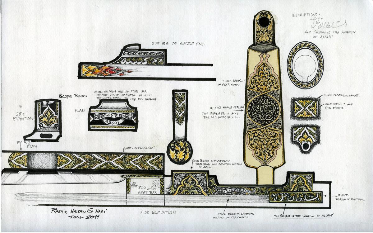 Rashid Designs for Westley Richards