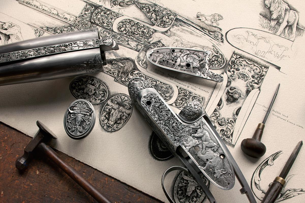 Vince Crowley Design for Westley Richards