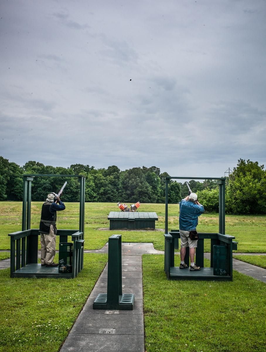 Shooting Flush at Bray's Island