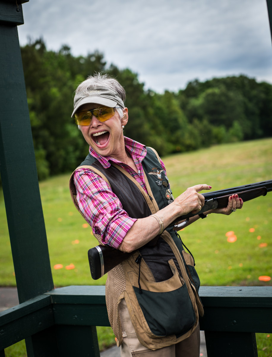 A Happy Shooter at Bray's Island