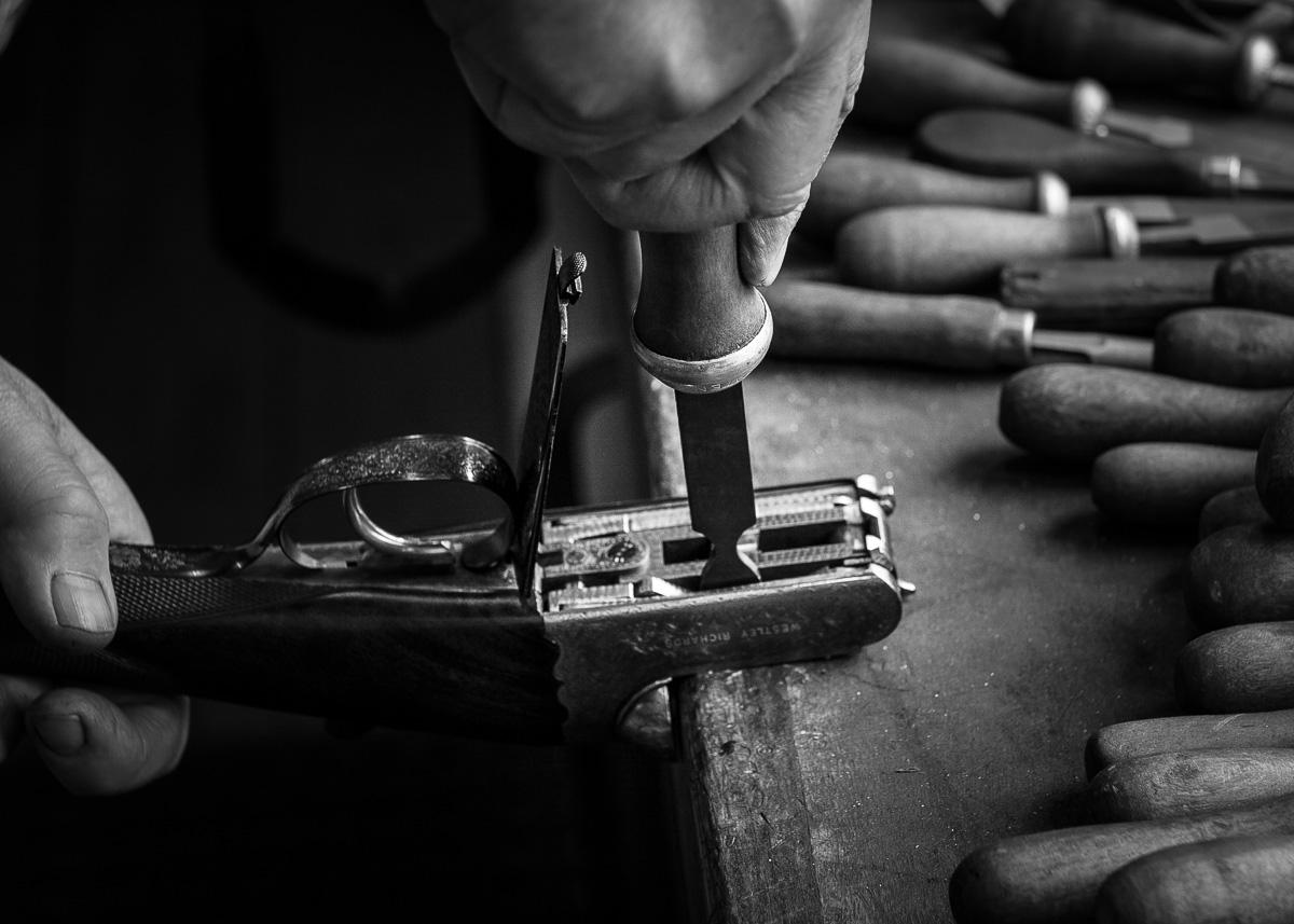 Westley Richards, droplock, cocking lock