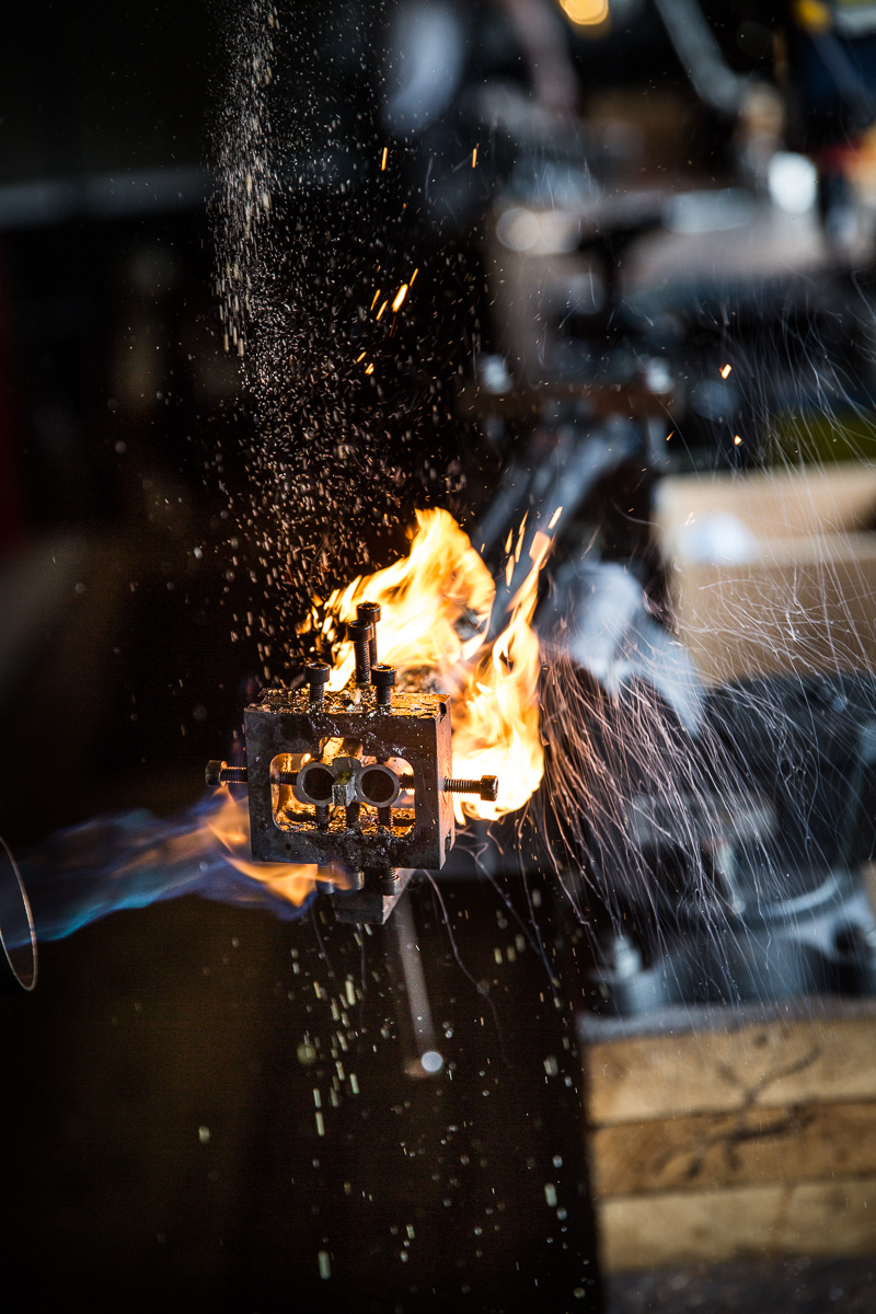 Heating the Barrels for Regulating
