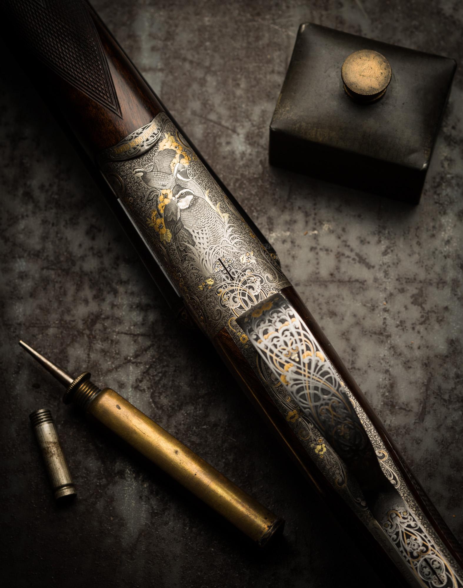 McKay Brown, 410, shotgun, creative arts, pair of guns,