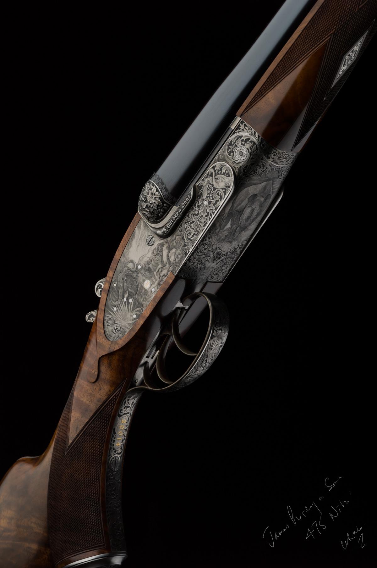 James Purdey, Double Rifle, Nitro Express, 475,
