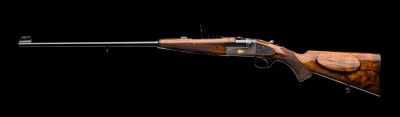 A Westley Richards .303 Hand Detachable Lock Rifle.