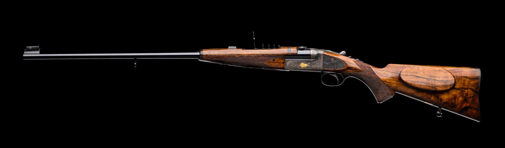 Westley Richards, droplock, 303, vintage rifle