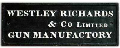 VISITING WESTLEY RICHARDS & Co. Ltd.