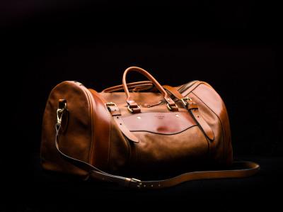 Westley Richards Leather Safari Bag. 'The Sutherland Bag'.