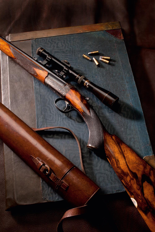 Westley Richards, single shot, 22lr, varmint rifle