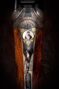 Westley Richards, Enamel TopLever, portrait