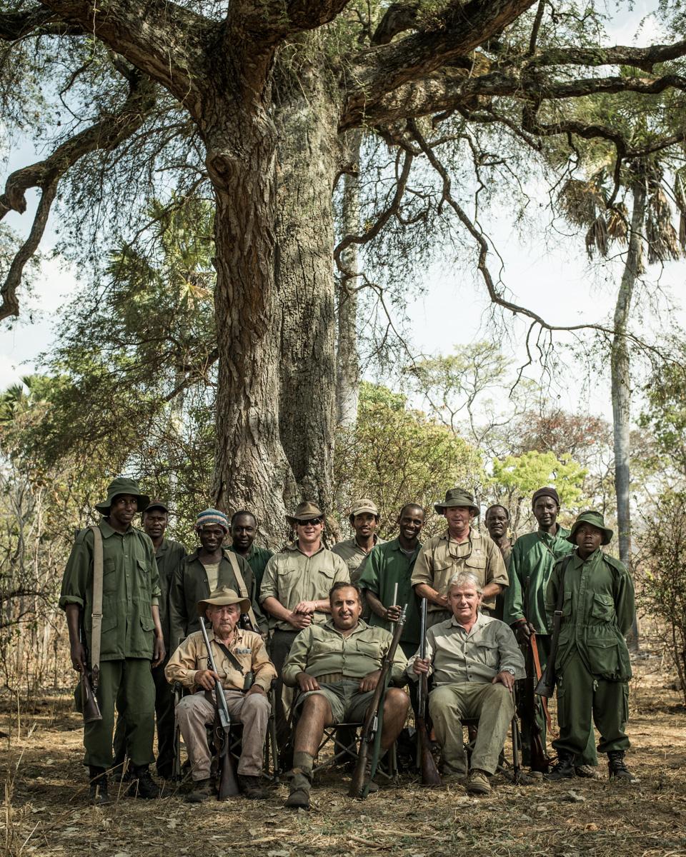 Westley Richards, Safari, Tanzania