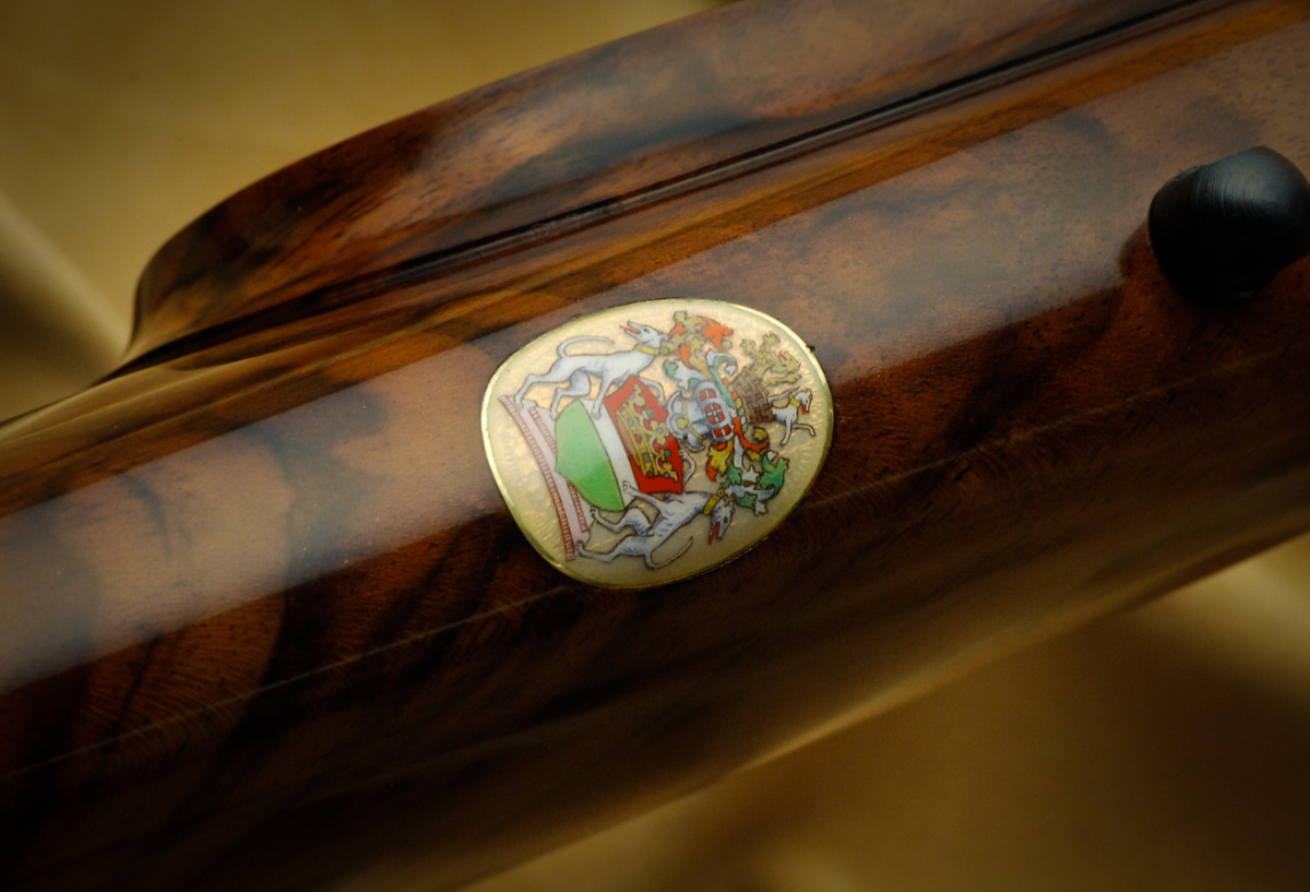 Westley Richards, Gun Oval, Crest Plates