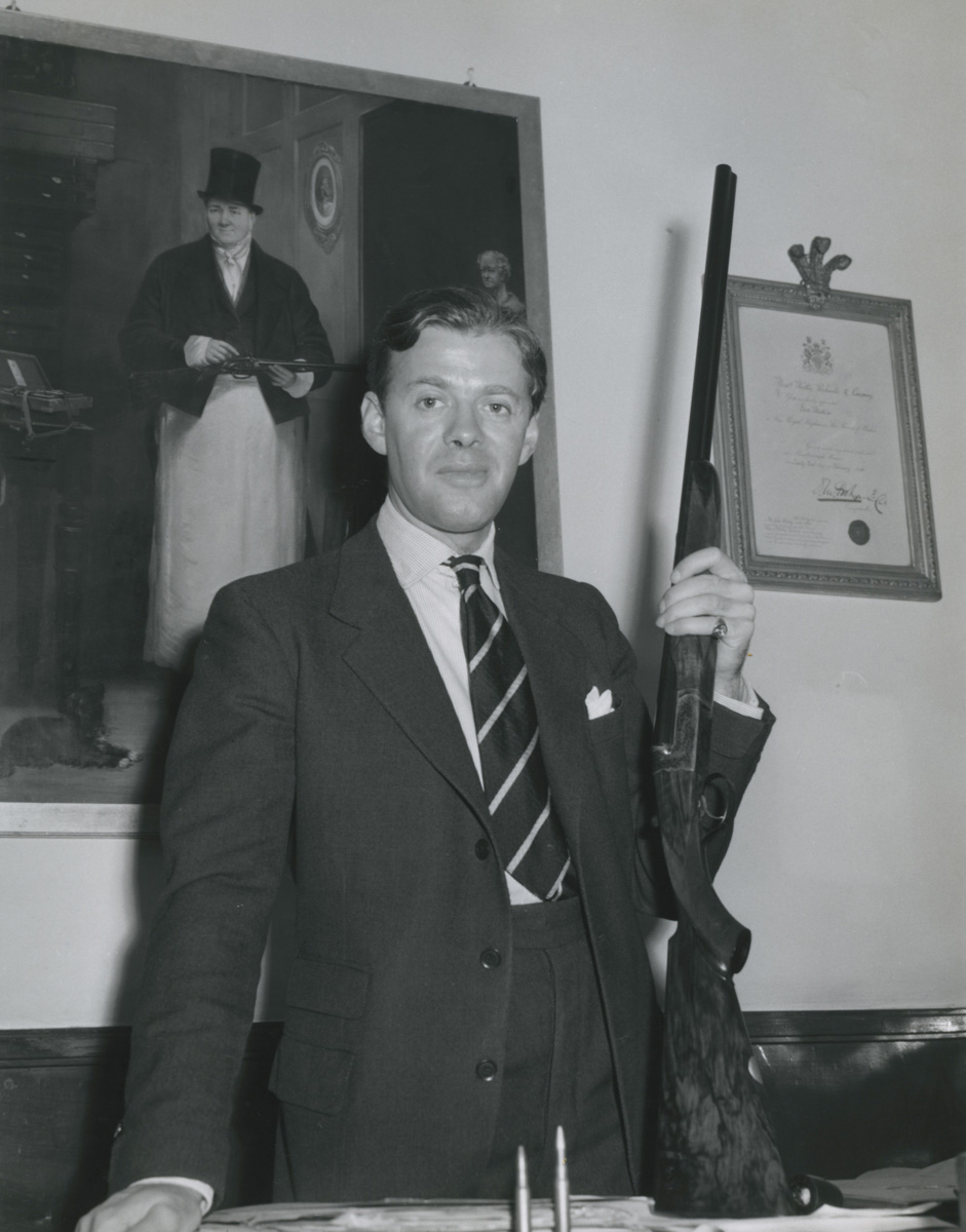 Malcolm Lyell, Westley Richards, Conduit Street,