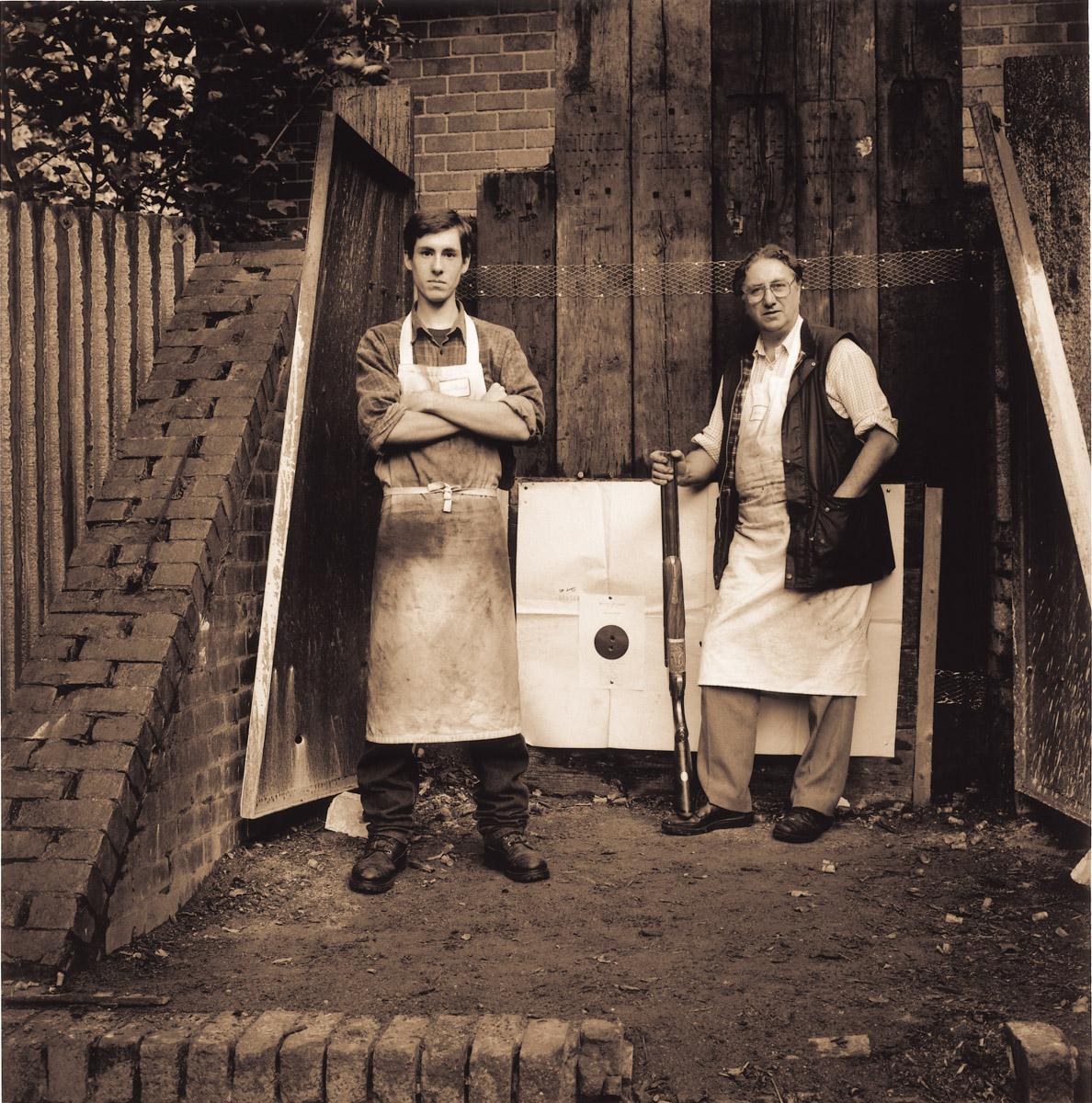 Ken Halbert & Apprentice Westley Richards