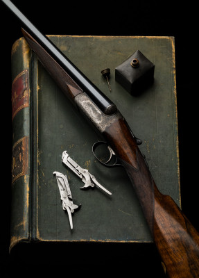 Westley Richards 12g Lightweight Game Gun.