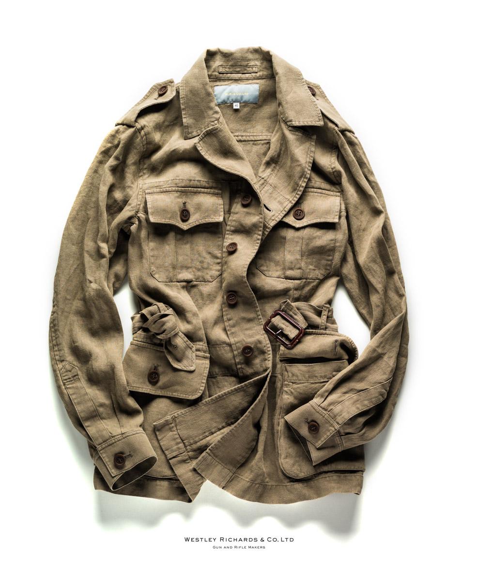 Safari Jacket, Linen, WR & Co. Westley Richards,