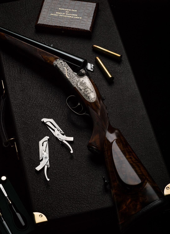 Westley Richards, 577, Droplock, Double rifle,
