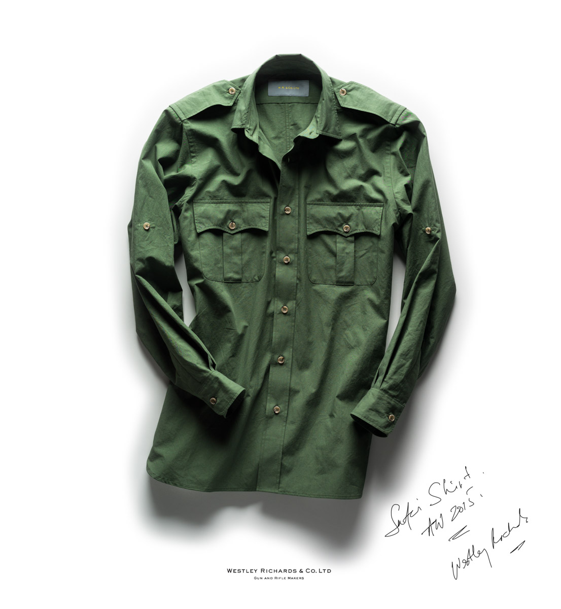 Safari Shirt, WR & Co. Westley Richards.