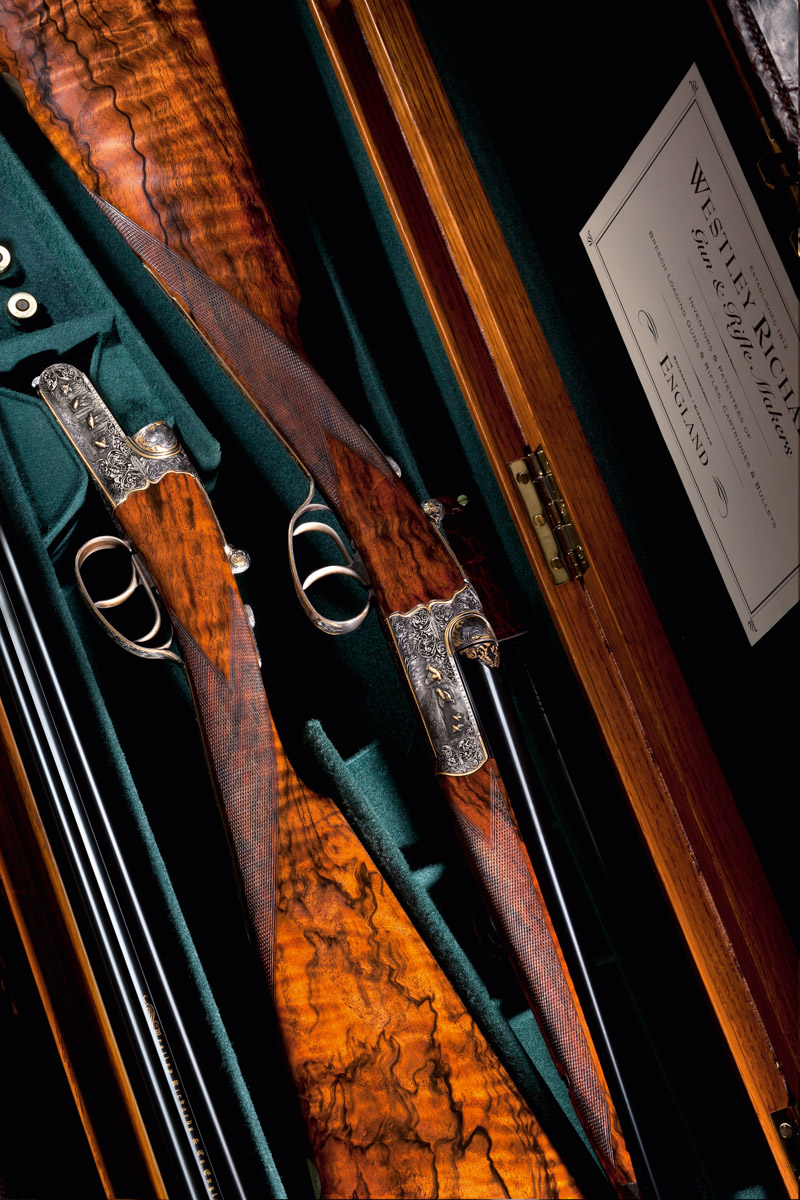 Droplock, Westley Richards, The Explora, Shotguns