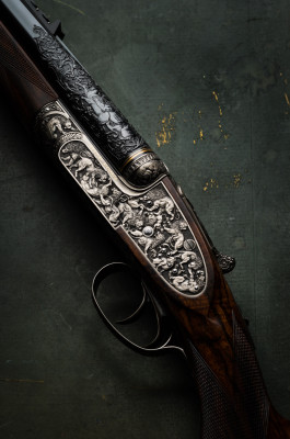 The Westley Richards 'Lion Rifle'. A .470 Sidelock Express.