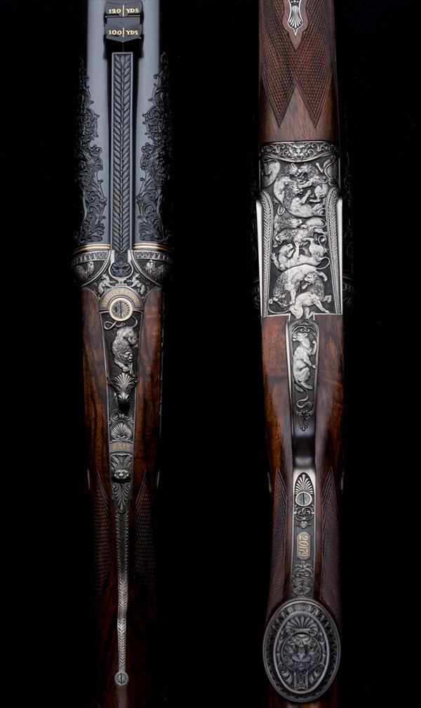 Lion Rifle, Westley Richards, 470, Sidelock,