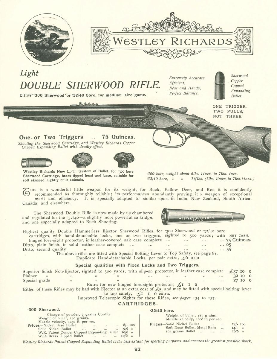 Double Sherwood Rifle