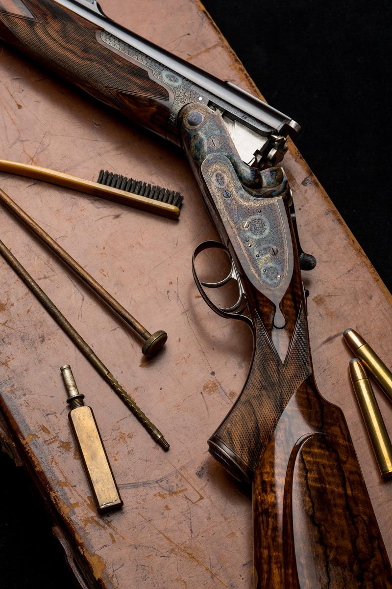 Boss & Co. 500 NE Over Under rifle