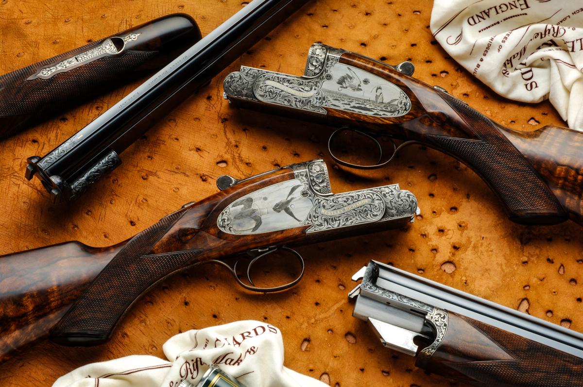 The first pair of modern Ovundo 20g guns.