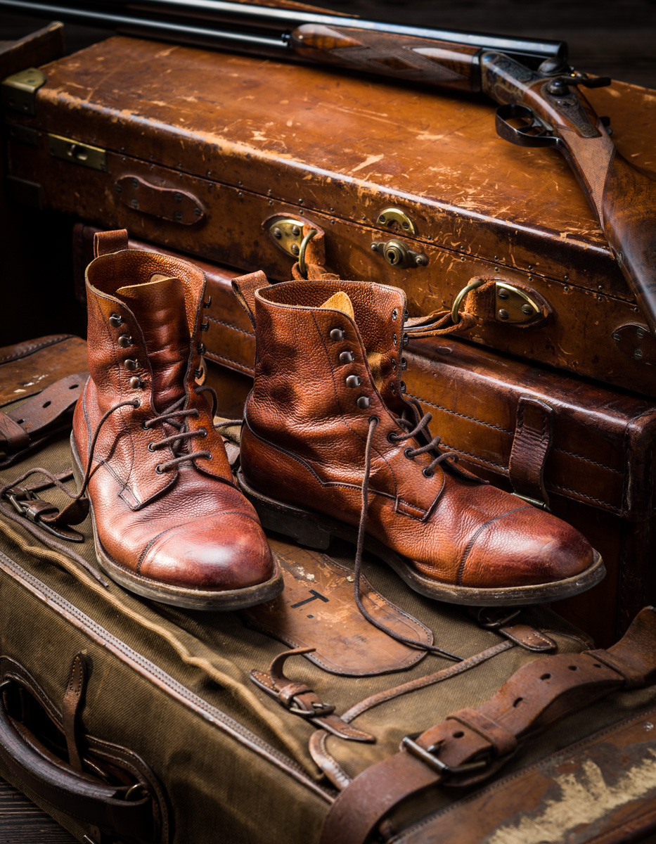 Edward Green Galway Rosewood Boot