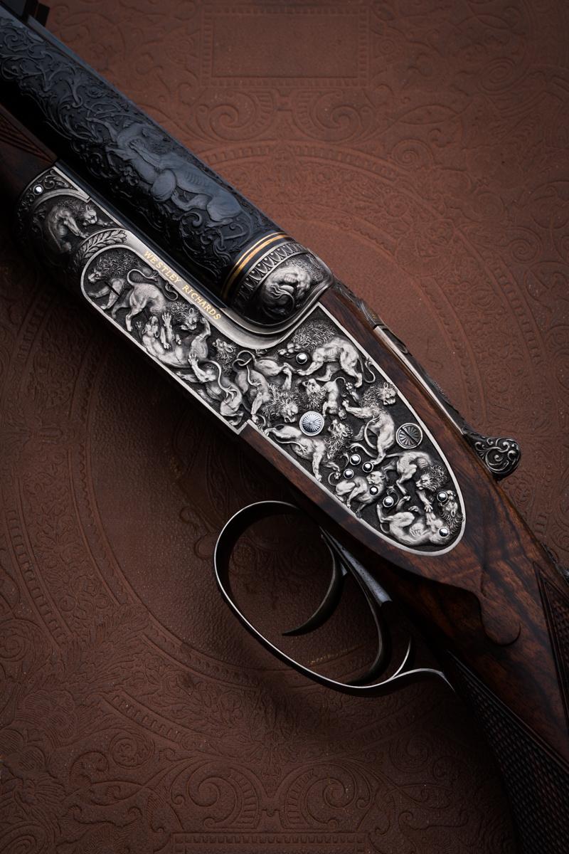 The Lion Rifle, Westley Richards, 470 double rifle