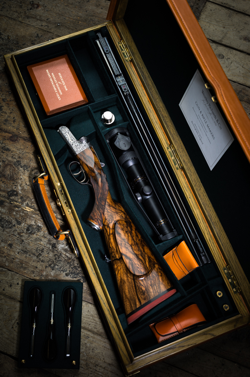 Westley Richards, Droplock 375, Double Rifle,