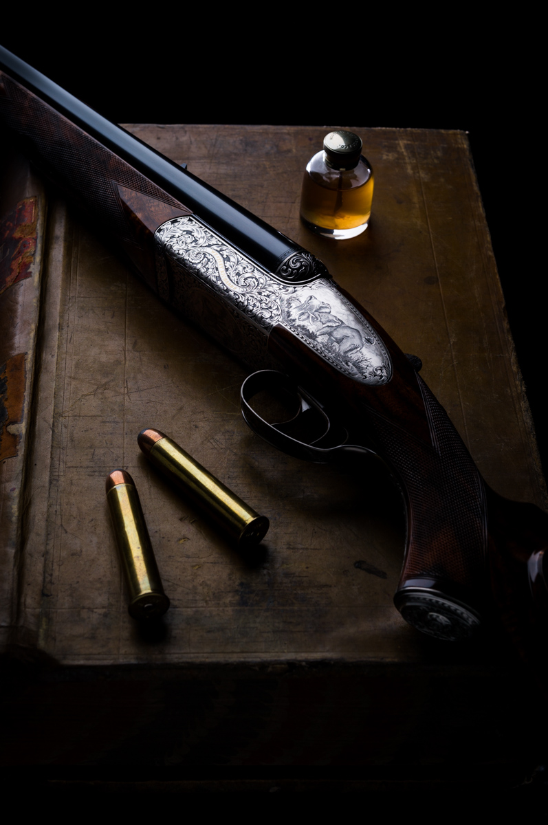 577 Droplock, Westley Richards, double rifle, 577